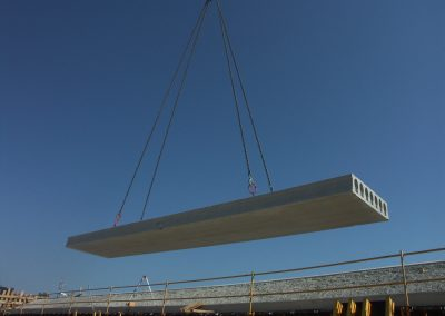 Hollowcore Slab Erection