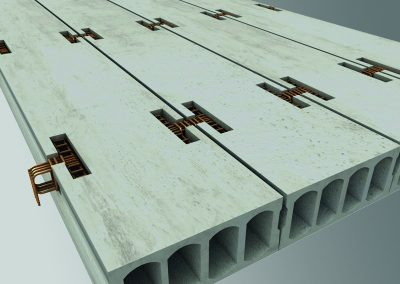 Hollowcore Slab Design 3D