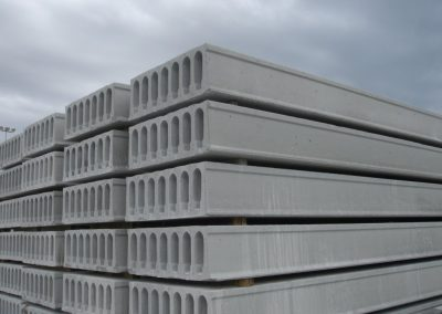 Hollowcore Slabs Stacked